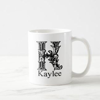 Monograma de lujo: Kaylee Taza