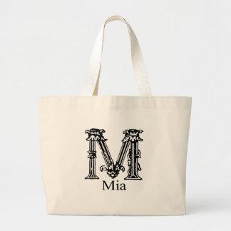 Monograma de lujo: Mia Bolsa