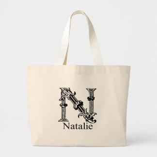 Monograma de lujo: Natalie Bolsa De Mano
