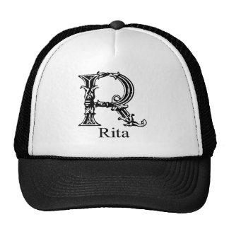 Monograma de lujo: Rita Gorros Bordados