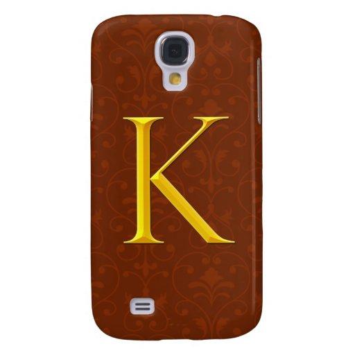 Monograma de oro de K