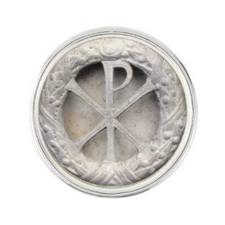 Monograma de rho de la ji insignia
