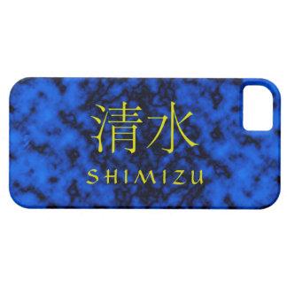 Monograma de Shimizu iPhone 5 Carcasas