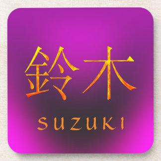 Monograma de Suzuki Posavasos