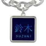 Monograma de Suzuki Pulsera