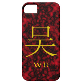 Monograma de Wu iPhone 5 Carcasa