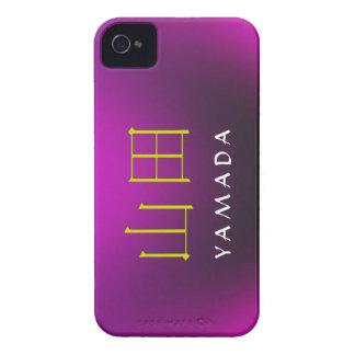 Monograma de Yamada iPhone 4 Carcasas