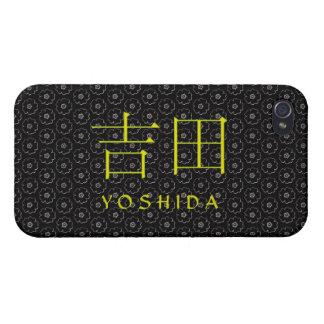 Monograma de Yoshida iPhone 4/4S Carcasa