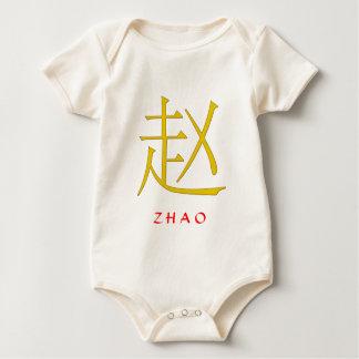 Monograma de Zhao Body Para Bebé