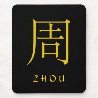Monograma de Zhou Tapetes De Ratones
