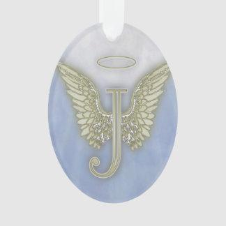 Monograma del ángel de la letra J