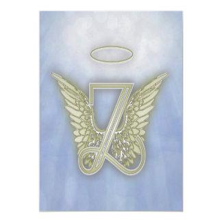 Monograma del ángel de la letra Z Anuncio
