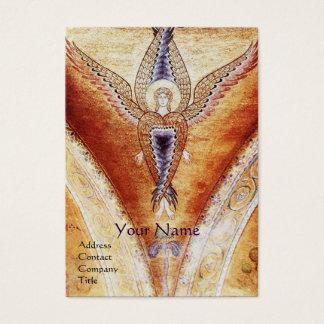 Monograma del ÁNGEL del MOSAICO Tarjetas De Visita Grandes