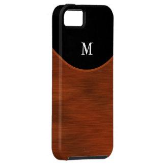monograma del caso del iPhone 5 iPhone 5 Case-Mate Cárcasa