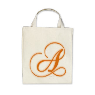 Monograma del chalet de la variedad un bolso bolsa