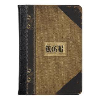 Monograma del estilo del libro viejo del fuego de