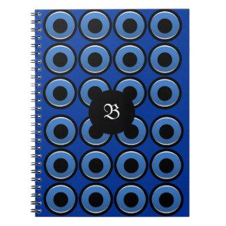 Monograma del mal de ojo - cuaderno