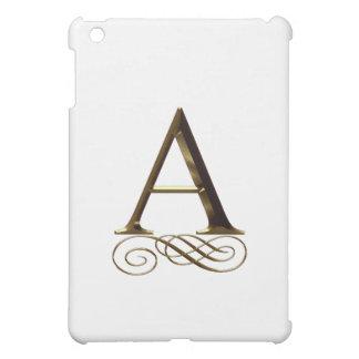 """Monograma del oro"""" A"""" del VIP"""