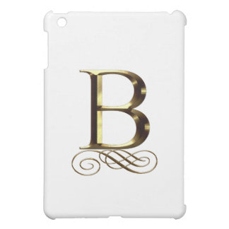 """Monograma del oro"""" B"""" del VIP"""