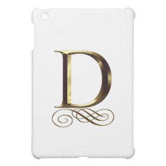 """Monograma del oro"""" D"""" del VIP"""