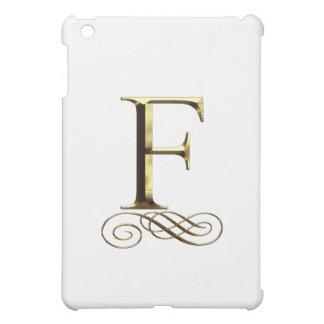 """Monograma del oro"""" F"""" del VIP"""