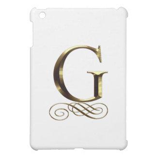 """Monograma del oro"""" G"""" del VIP"""