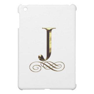 """Monograma del oro"""" J"""" del VIP"""