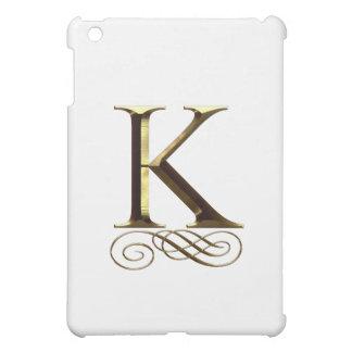 """Monograma del oro"""" K"""" del VIP"""