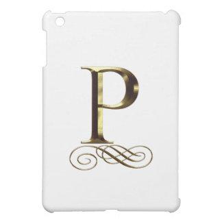 """Monograma del oro"""" P"""" del VIP"""