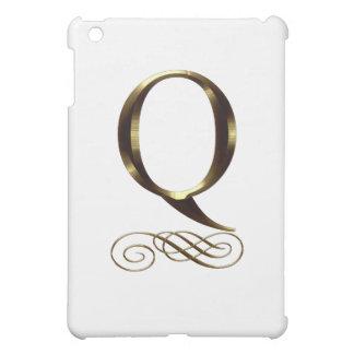 """Monograma del oro"""" Q"""" del VIP"""