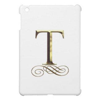 """Monograma del oro"""" T"""" del VIP"""