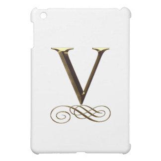 """Monograma del oro"""" V"""" del VIP"""
