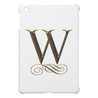 """Monograma del oro"""" W"""" del VIP"""