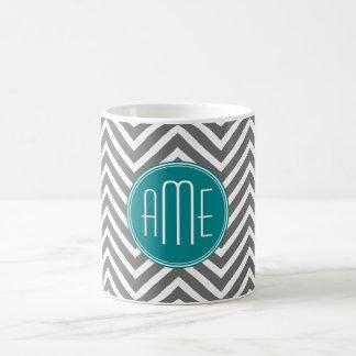Monograma del personalizado de los galones del car tazas de café