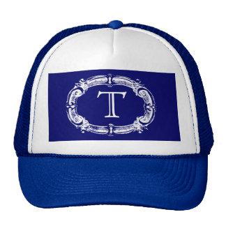 Monograma del personalizado del estilo de la pizar gorras