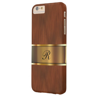Monograma del profesional del negocio funda para iPhone 6 plus barely there