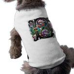 Monograma dos de B Camisas De Perritos