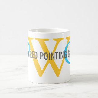 Monograma el señalar Griffon Wirehaired Tazas De Café