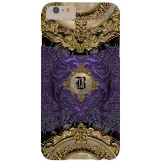 Monograma elegante de Chalchadoriz Royale 6/6s Funda De iPhone 6 Plus Barely There