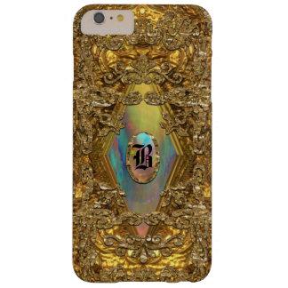 Monograma elegante de Dempsey 6/6s Funda Para iPhone 6 Plus Barely There