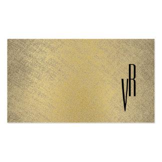 Monograma elegante moderno simple profesional tarjetas de visita