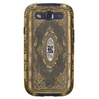 Monograma empantanado del encanto del Viejo Mundo Galaxy S3 Fundas