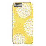 Monograma floral blanco amarillo