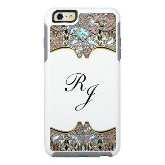 Monograma francés barroco del chalet personalizado funda otterbox para iPhone 6/6s plus