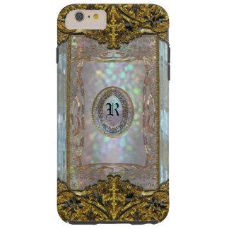 Monograma glamoroso 6/6s de Paternost Ritz Funda Para iPhone 6 Plus Tough