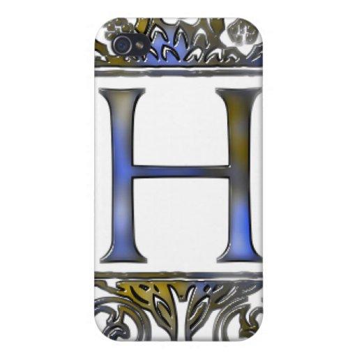 Monograma H iPhone 4/4S Funda