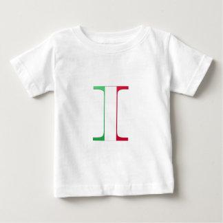 Monograma I (de Italia) Playera Para Bebé