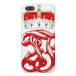 Monograma imperial de duque Francisco Fernando del iPhone 5 Cárcasas