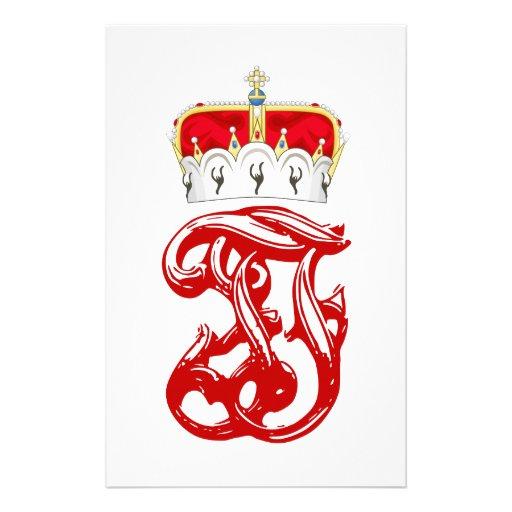 Monograma imperial de duque Francisco Fernando del Papelería De Diseño