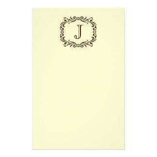 Monograma inmóvil  papeleria